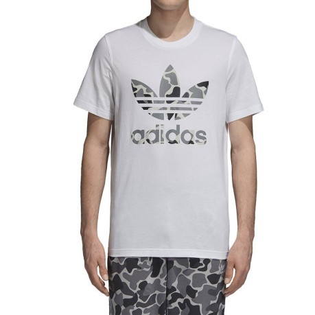 t-shirt adidas camouflage homme