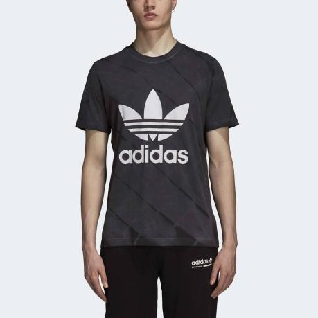 T Dye Colore Nero Tie Uomo Originals Adidas Shirt zgxqr7wz