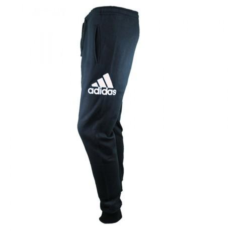Pant Sweat Colore Adidas Cuff Blue Pants Big Logo Mens xfwfXqF