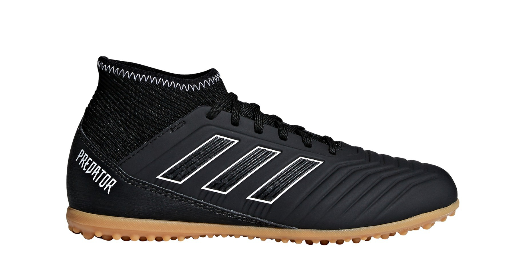 Schuhe Fußball Jungen Adidas Predator Tango 18.3 TF Shadow Mode Packs