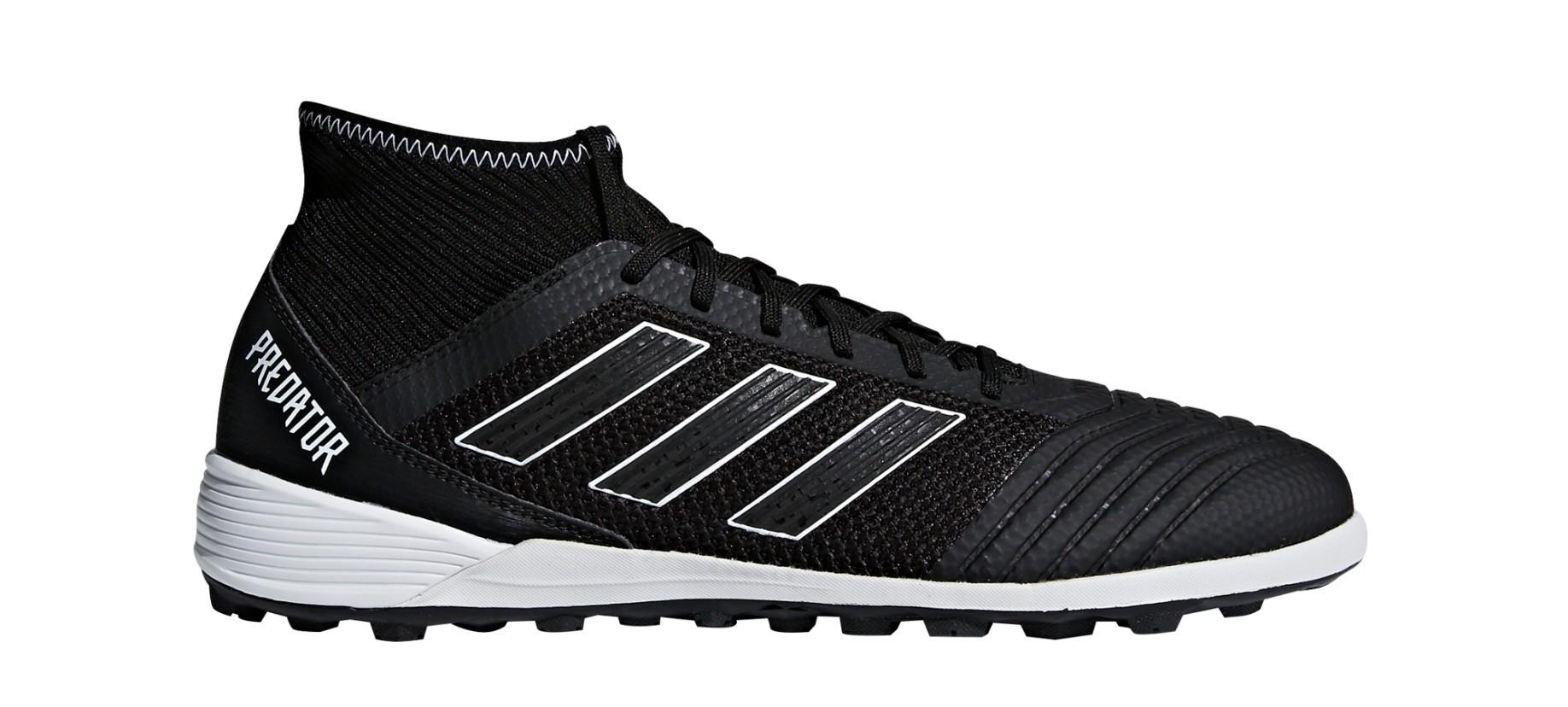 360a11d4939729 Shoes Soccer Adidas Predator Tango 18.3 TF Shadow Mode Pack colore Black -  Adidas - SportIT.com