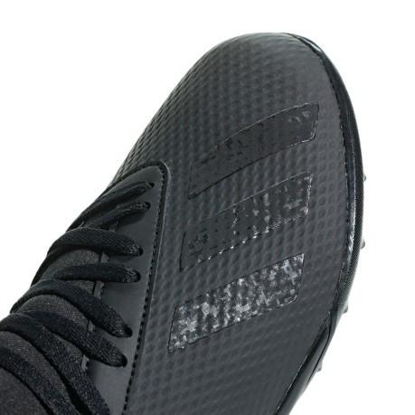 Schuhe Fussball Kinder Adidas X 18.3 TF Shadow Mode Packs