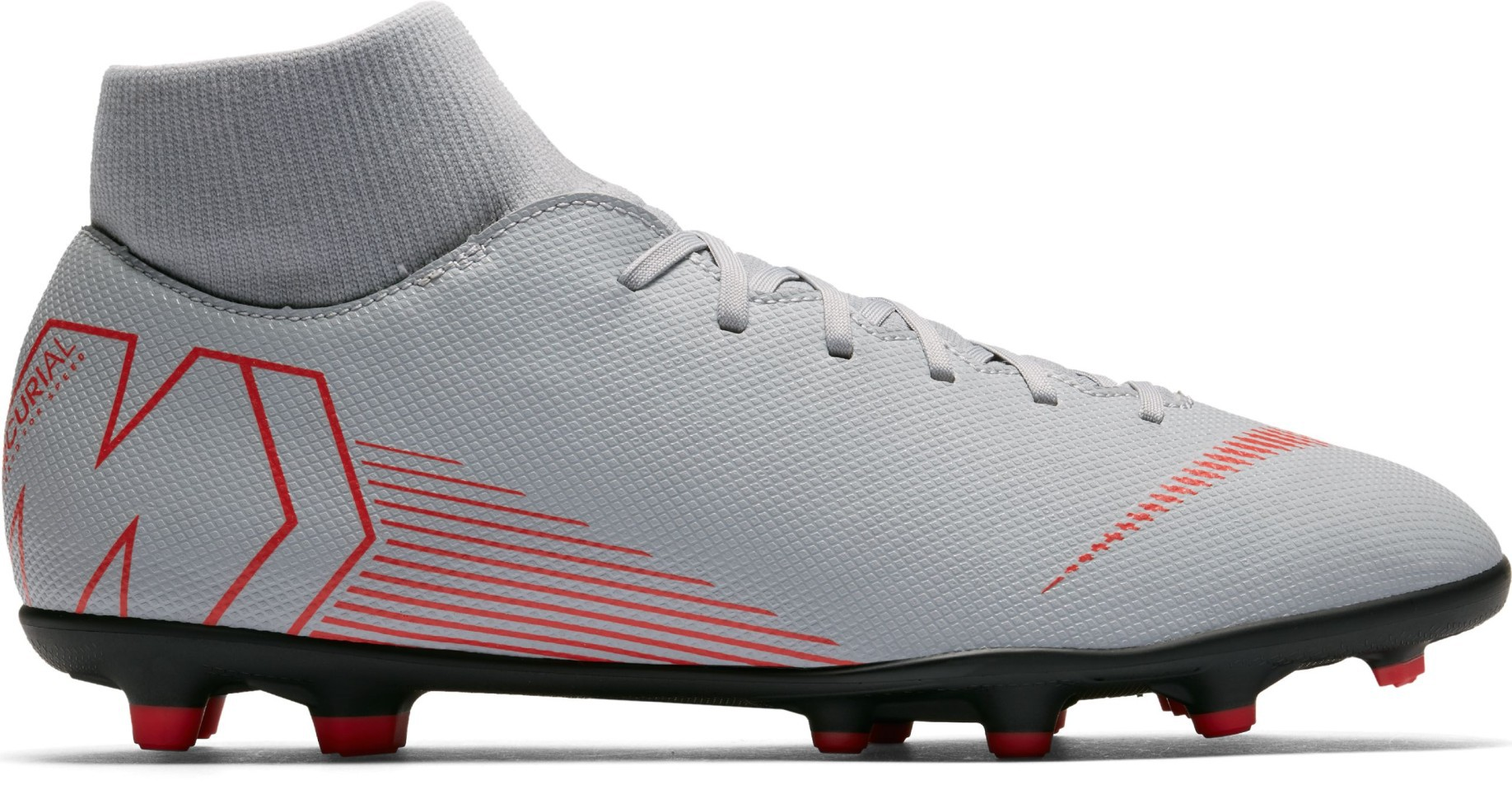 new product 408f0 4e1aa Soccer shoes Nike Mercurial Superfly VI Club MG Raised On Concrete Pack  colore Grey Pink - Nike - SportIT.com