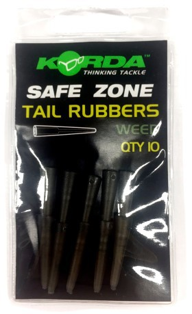 Safe Zone Tail Rubbers nero