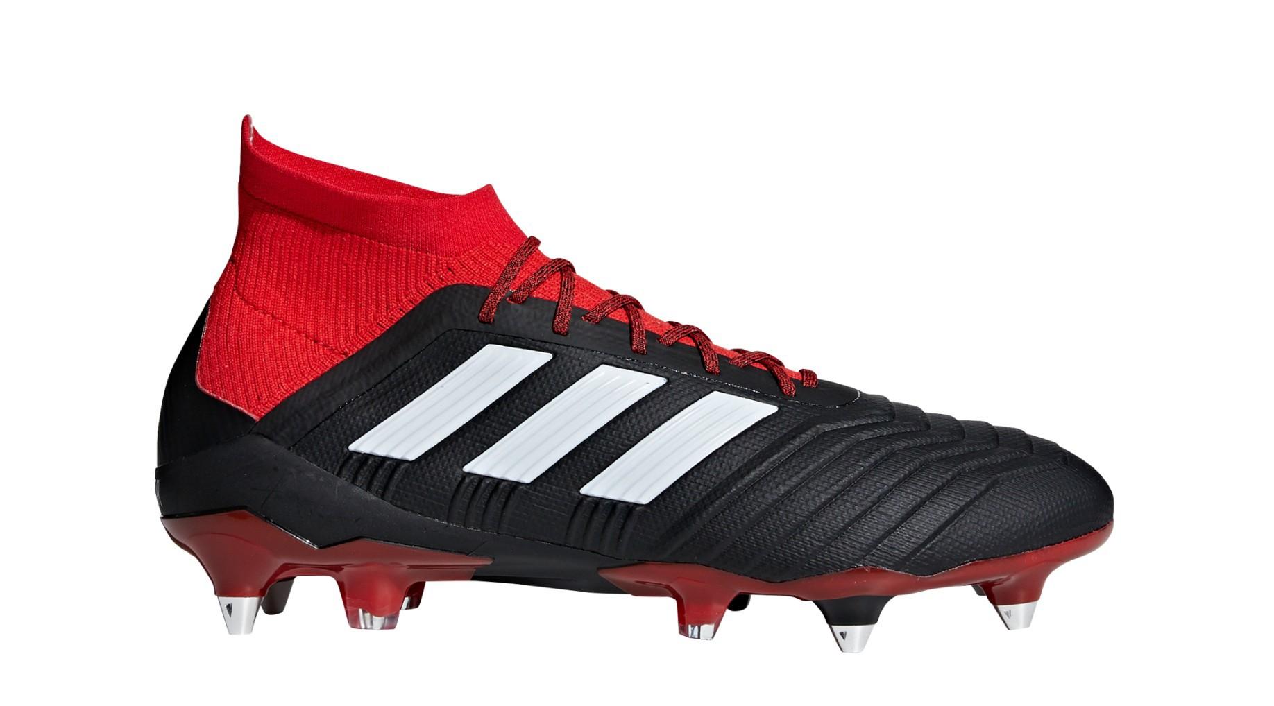 fa55c9794 Football boots Adidas Predator 18.1 SG Team Mode Pack colore Black Red -  Adidas - SportIT.com