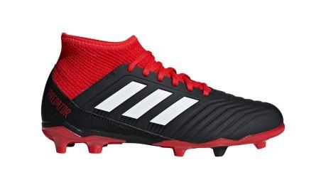 Soccer shoes Boy Adidas Predator 18.3 FG Team Mode Pack colore Black ... c617a5ab83c61