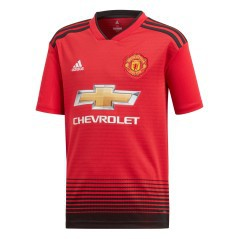 Jersey Manchester United Home jr 18/19 front