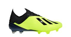 Football boots Adidas X 18.1 FG Team Mode Pack side