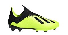 Football boots Kid Adidas X 18.1 FG Team Mode Pack side