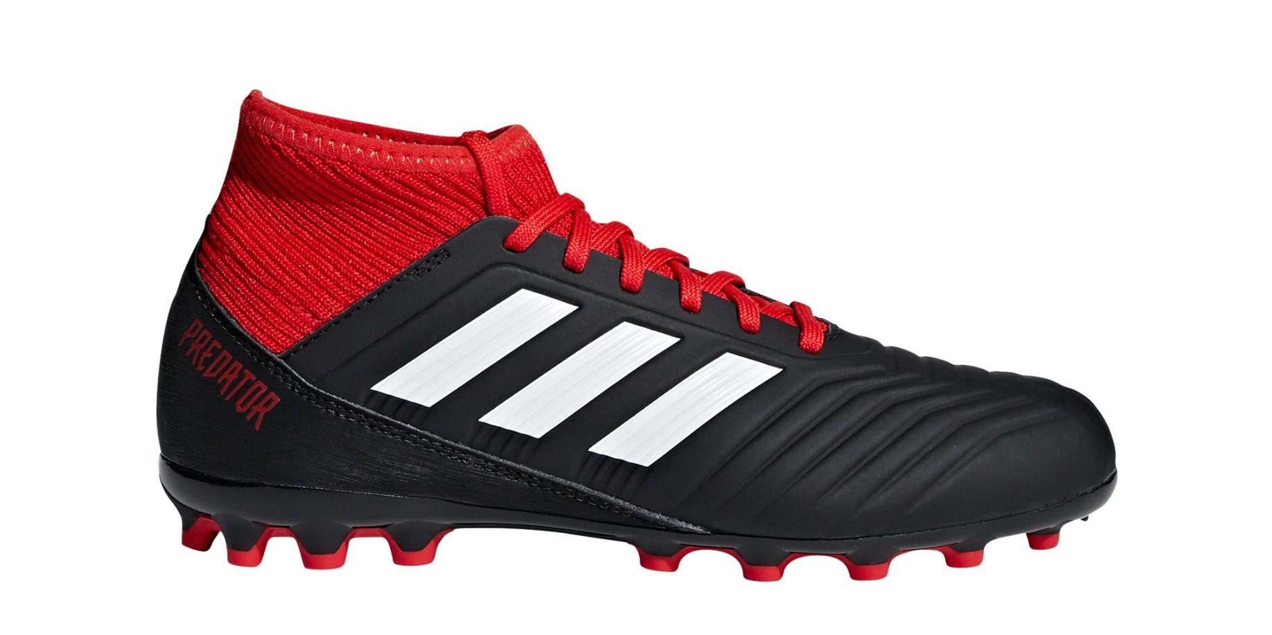 91ced493adab Soccer shoes Boy Adidas Predator 18.3 AG Team Mode Pack colore Black Red -  Adidas - SportIT.com