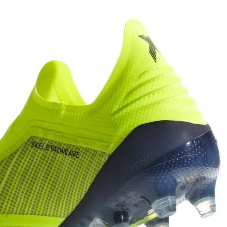 Fg Scarpe Colore Adidas Calcio Giallo X Pack Team Mode 18 8qAIqr
