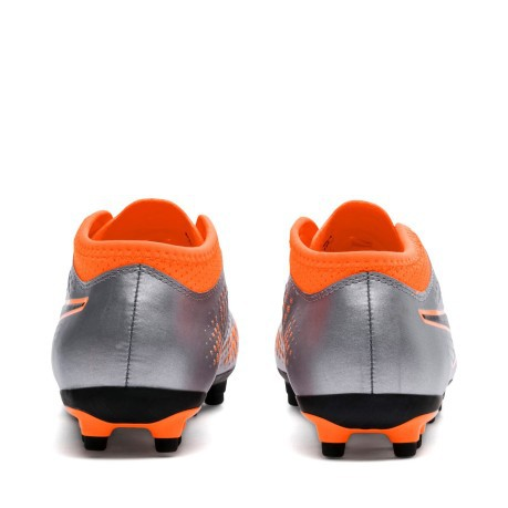 a8f579b36 Kids Football boots Puma One 4 Syn AG Uprising Pack colore Silver ...