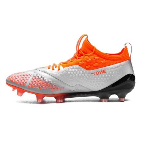 1f31bc0ed4f Puma Football boots One 1 Syn FG AG Uprising Pack colore Silver ...