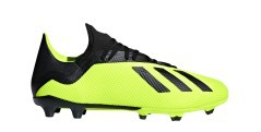 Football boots Adidas X 18.3 FG Team Mode Pack side
