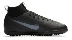 Scarpe Calcetto Bambino Nike Mercurial Superfly VI Club TF Stealth Ops Pack destra