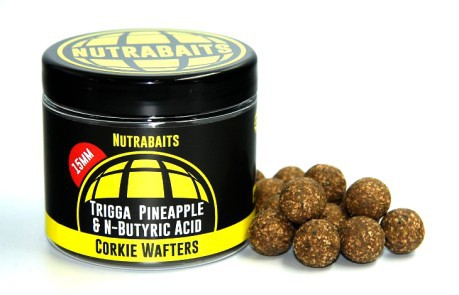 Boilies Corkie Wafters Pineapple & N-Butyric 15 mm