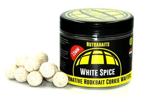 Boilies Corkie Wafers White Spice Hi-Attract 15 mm