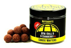 Boilies Corkie Wafters BFM: Krill & Cranberry 15 mm