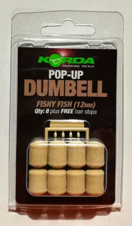 Pop up dumbell bianche