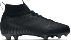 Soccer shoes Boy Nike Mercurial Superfly VI Elite FG Stealth Ops Pack side