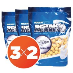 Boilies Instant Action Pineapple Crush 15mm 3X2