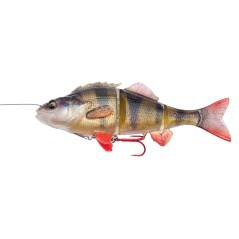 Esca Artificiale 4D Line Thru Perch 17 cm 63 g arancio nero