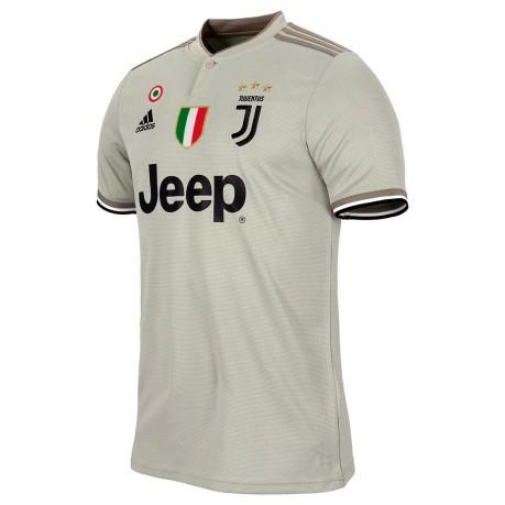 Jersey Juve Away jr 18 19 colore Grey Green - Adidas - SportIT.com 87a729c9f042e
