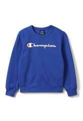 Sweatshirt Child's crew neck blue front