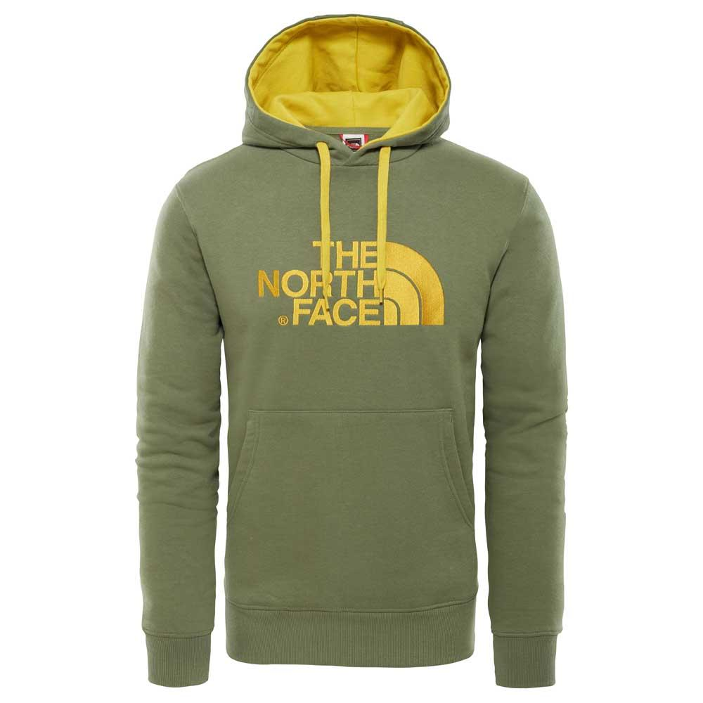 Sweatshirt Trekking Uomo Drew Peak colore Green - North Face - SportIT.com 920448c502cb