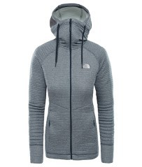 Fleece-Trekking Damen Hikesteller Midlayer vor