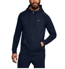 Felpa Uomo UA Rival Fleece Full-Zip