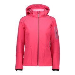 Jacket Hiking Women's Softshell pink front