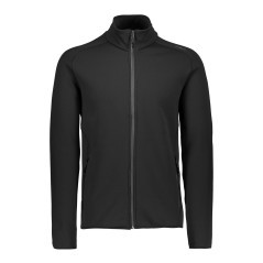 Fleece-Trekking Herren Fleece schwarz