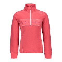 Pile Trekking Bambina Light Fleece rosa