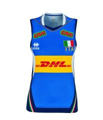 Jersey Official Volleyball Italy blue