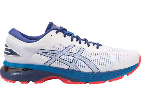 182e42d778a3 Running Shoes Mens Gel Kayano 25 A4 Stable colore White Blue - Asics ...