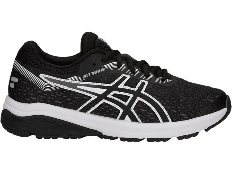 Kids Running shoes GT 1000 GS A4 Stable colore Black White - Asics ... fc4f3c1841c
