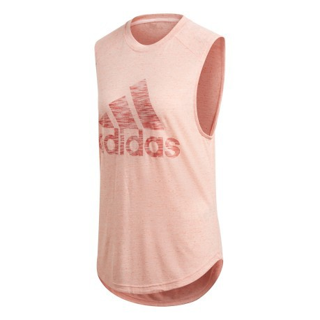 adidas gym top donna pink