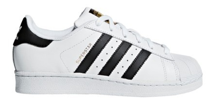 Chaussures Junior Superstar colore blanc