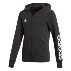 Felpa Con Cappuccio Ragazza Essentials 3 Stripes Mid fronte