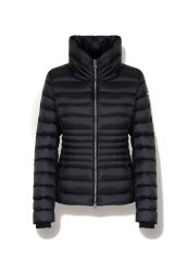 Down jacket Shiny Woman High Neck front