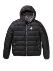 Reversible Jacket Men With Hood