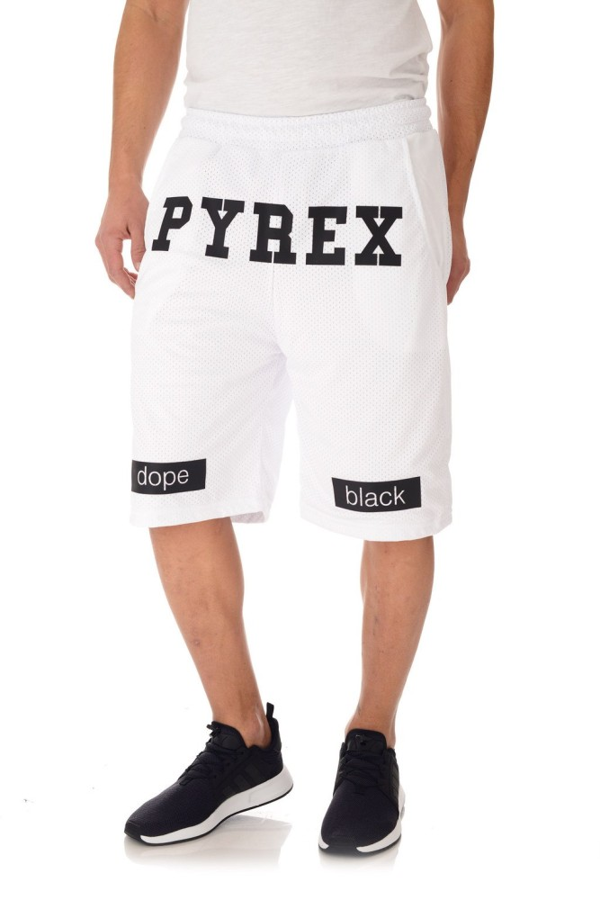 Pyrex Bermuda Uomo Bianco