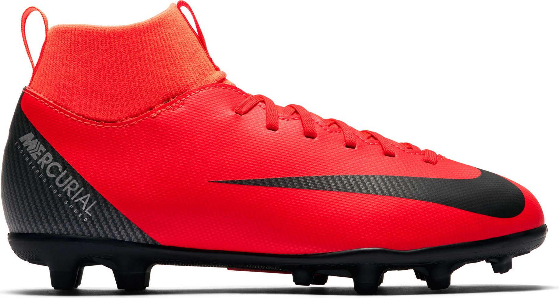 108c007d2877 Soccer shoes Child Nike Mercurial Superfly VI Club CR7 MG Built on Dreams  Pack colore Red Silver - Nike - SportIT.com