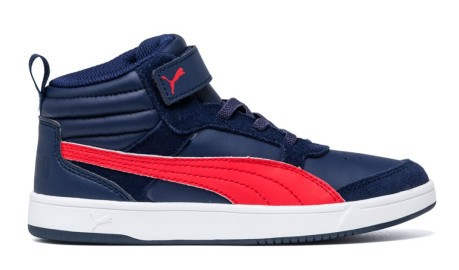 V2 Scarpe Ps Puma Blu Ragazzo Colore Rebound Rosso Street ZUnrtSxHU