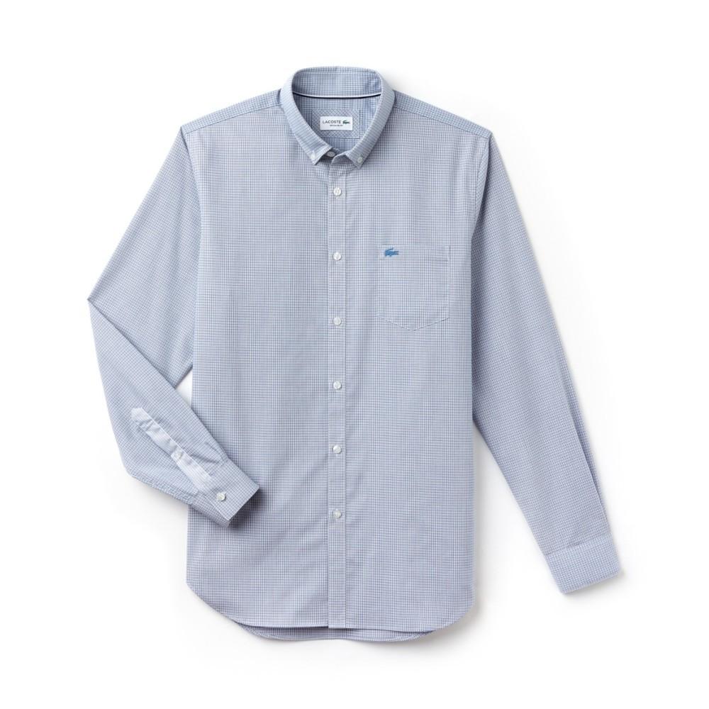 Camicia herren A Righe Lacoste