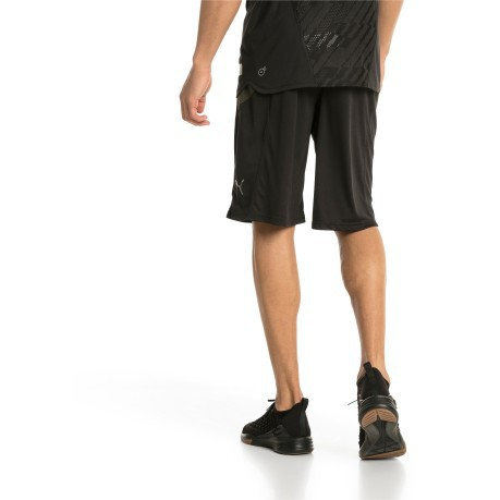 Short  Running Uomo Energy 11 nero verde