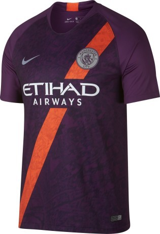 Jersey Manchester City Tercero 18 19 colore rojo - Nike - SportIT.com caddda605c7cf