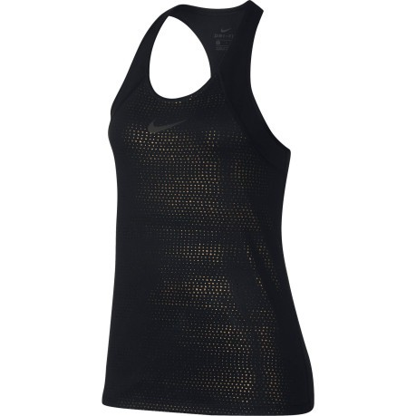 Tank top Women's Metallic Dot Print front