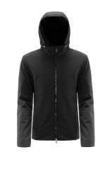 Jacket Man Stiring With Hood front